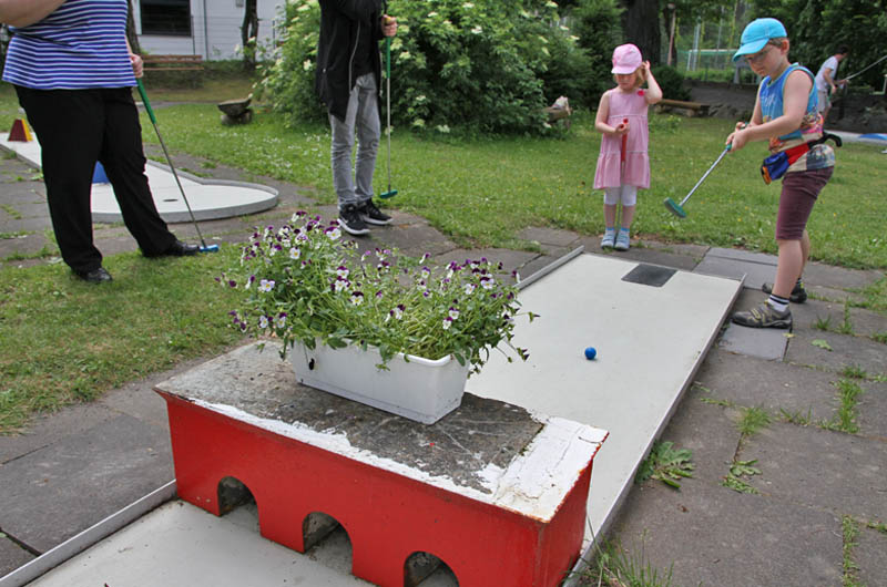 Minigolf in Mayen
