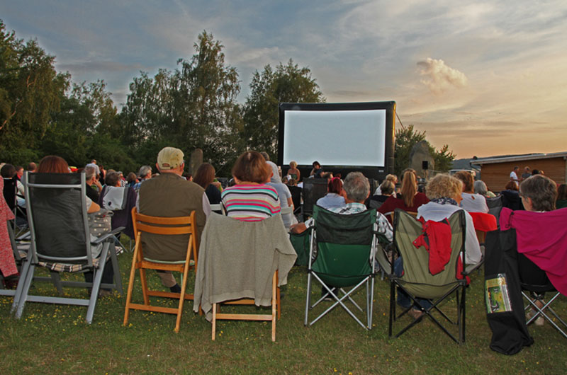 Open Air Kino am Grubenfeld 2017